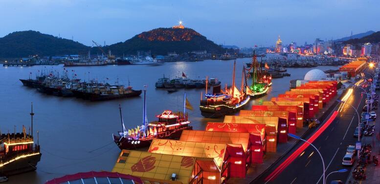 舟山漁港(網絡圖片)