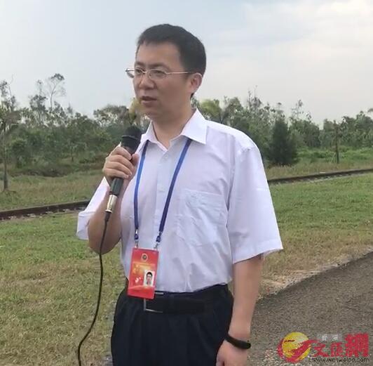 載人航天工程辦公室總體室副主任林西強接受香港文匯網採訪