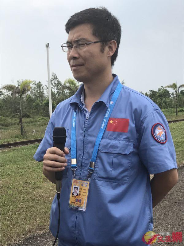 火箭系統副總師助理胡曉軍