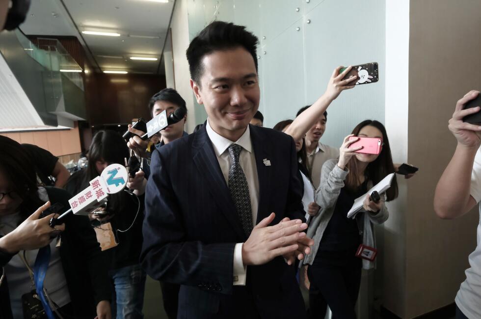 民建聯議員周浩鼎(資料圖片)