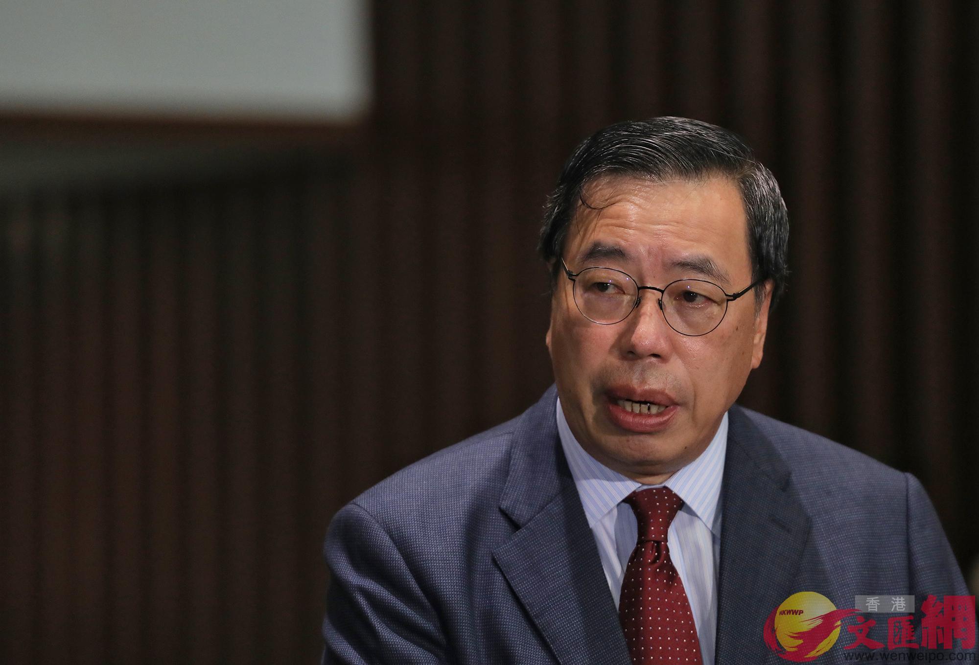 立法會主席梁君彥表示,要求羅梁劉姚於2周內收拾物品離開(大公文匯全媒體記者麥鈞傑攝)
