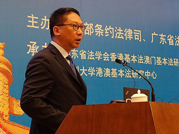律政司司長袁國強(資料圖片)