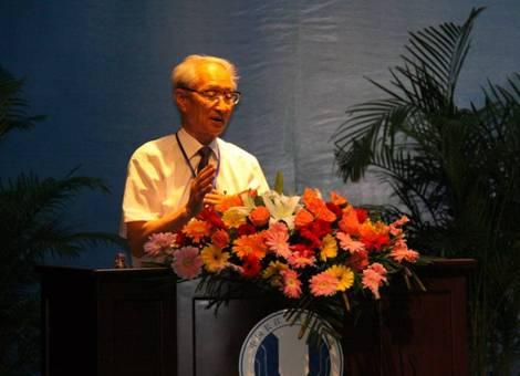 中國水利水電教授級高工、中國工程院院士 陳厚群 資料圖片