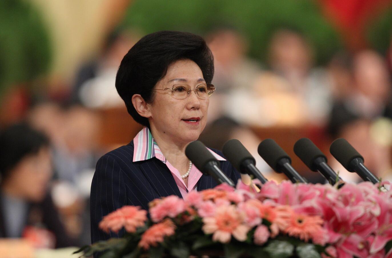 2009年,全國政協十一屆二次會議,全國政協委員李東東作大會發言,受訪者供圖