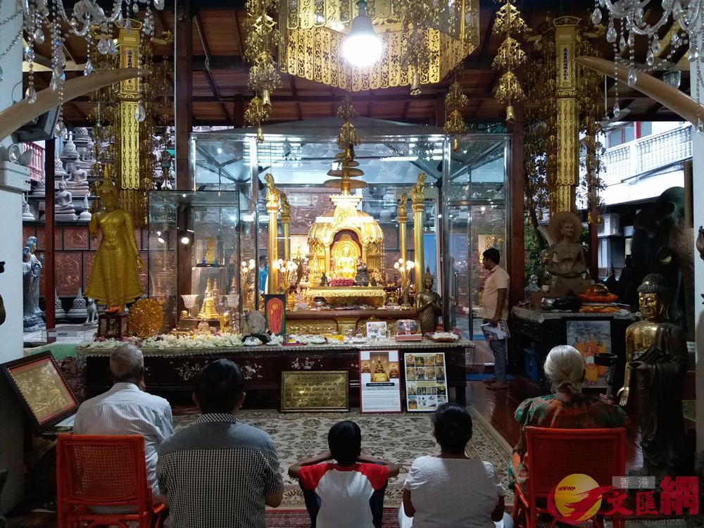 斯里蘭卡有超過六千五百多座寺廟,幾乎全民信佛/大公報實習記者陳穎欣攝