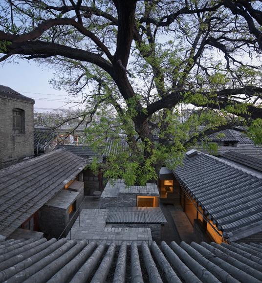 建築師張軻的「微雜院」項目