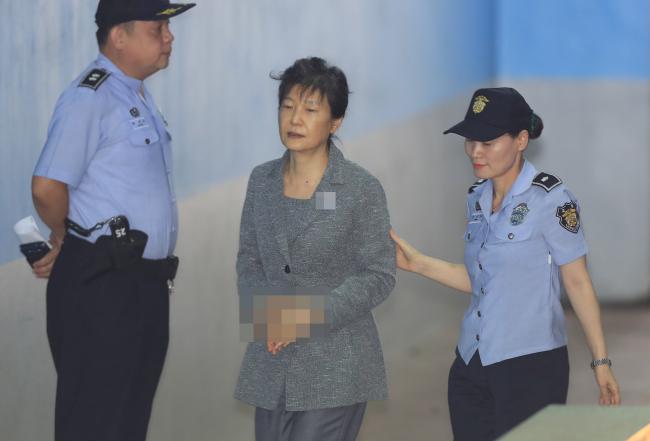 朴槿惠表示,「如果自由韓國黨想跟她一刀兩斷,那就乾脆開除她黨籍。」(網絡圖片)