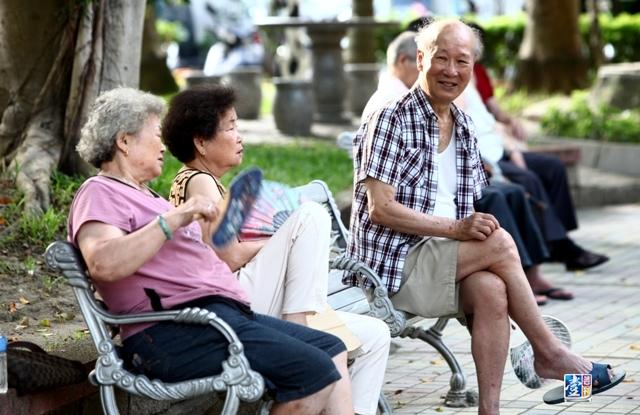 2018年台灣65歲以上老人將占總人口14%以上(資料圖片)