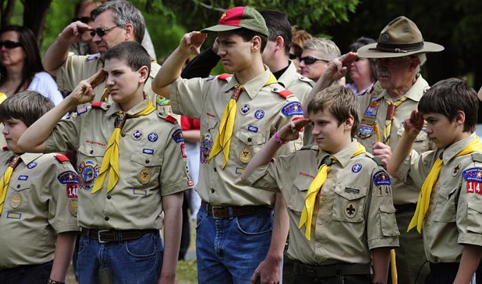 美國童軍(資料圖片)