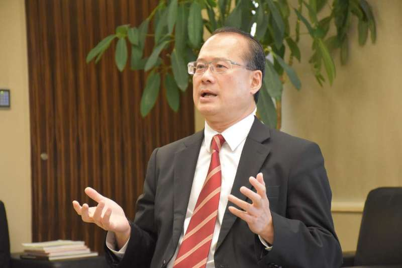 全國政協委員、香港中華總商會會長蔡冠深(資料圖片)