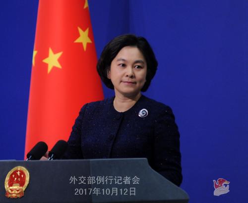中國外交部發言人華春瑩在12日的例行記者會上回應稱,允許誰入境,不允許誰入境,是中國的主權。
