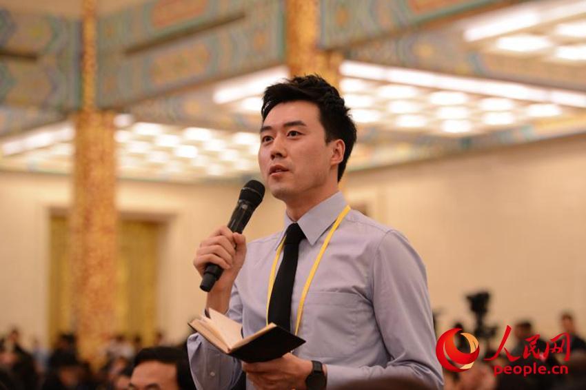 中國新聞社中新網記者提問(人民網)