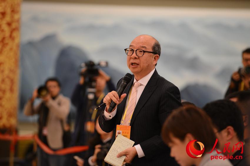 香港無線電視記者提問(人民網)