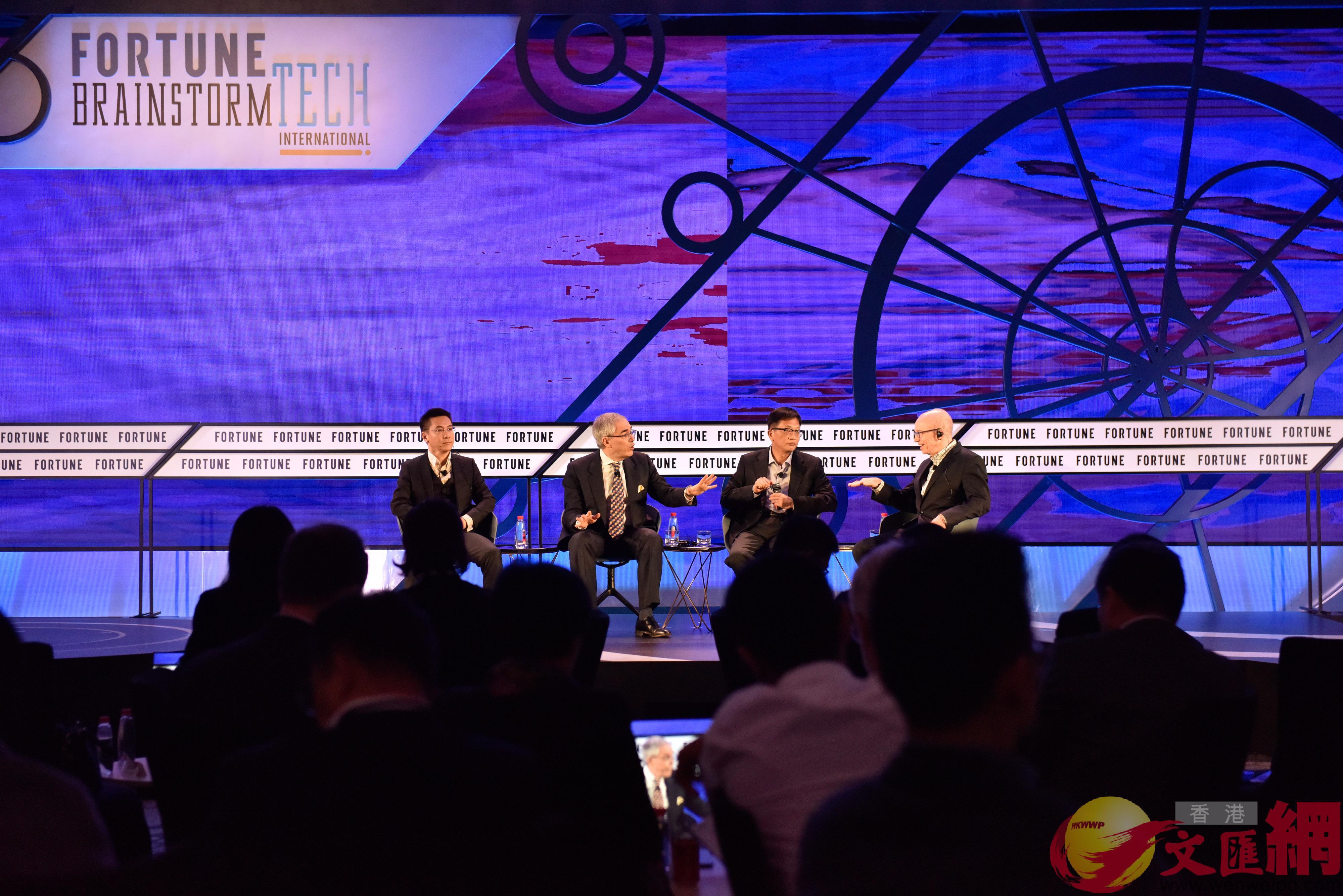 被稱為「小財富」的「國際科技頭腦風暴大會」在廣州舉行