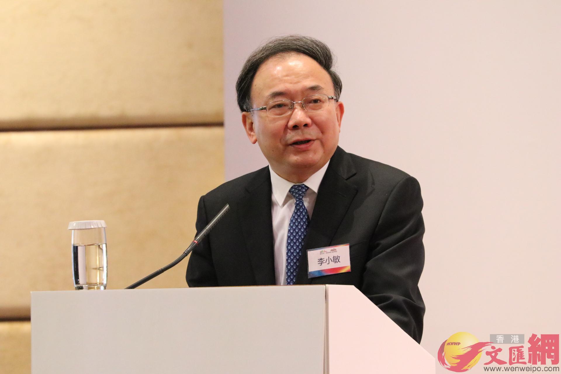 江蘇省委常委、無錫市委書記李小敏致辭