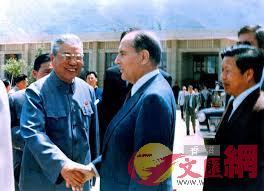 1983年,時任法國總統密特朗到訪西安,選擇了兵馬俑作為主要參觀地(資料圖片 來源網絡)
