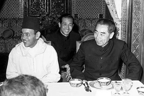 1963年12月,周恩來訪問摩洛哥。