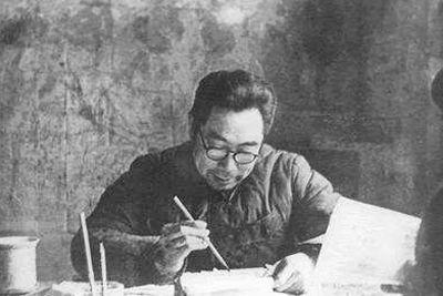1948年5月,中共中央和中國人民解放軍總部從陝北遷到河北平山縣西柏坡,並在此指揮三大戰役。圖為周恩來在西柏坡辦公室簽署作戰命令。