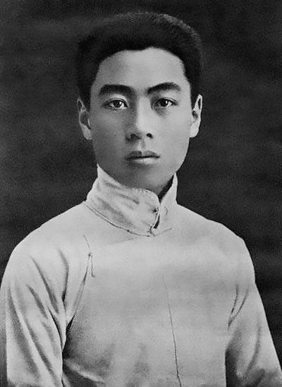 1917年,周恩來在天津南開學校畢業。
