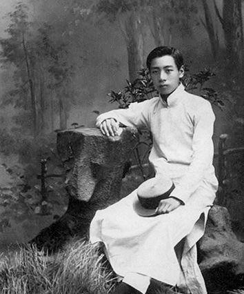 1914年7月,在天津南開學校讀書時的周恩來。