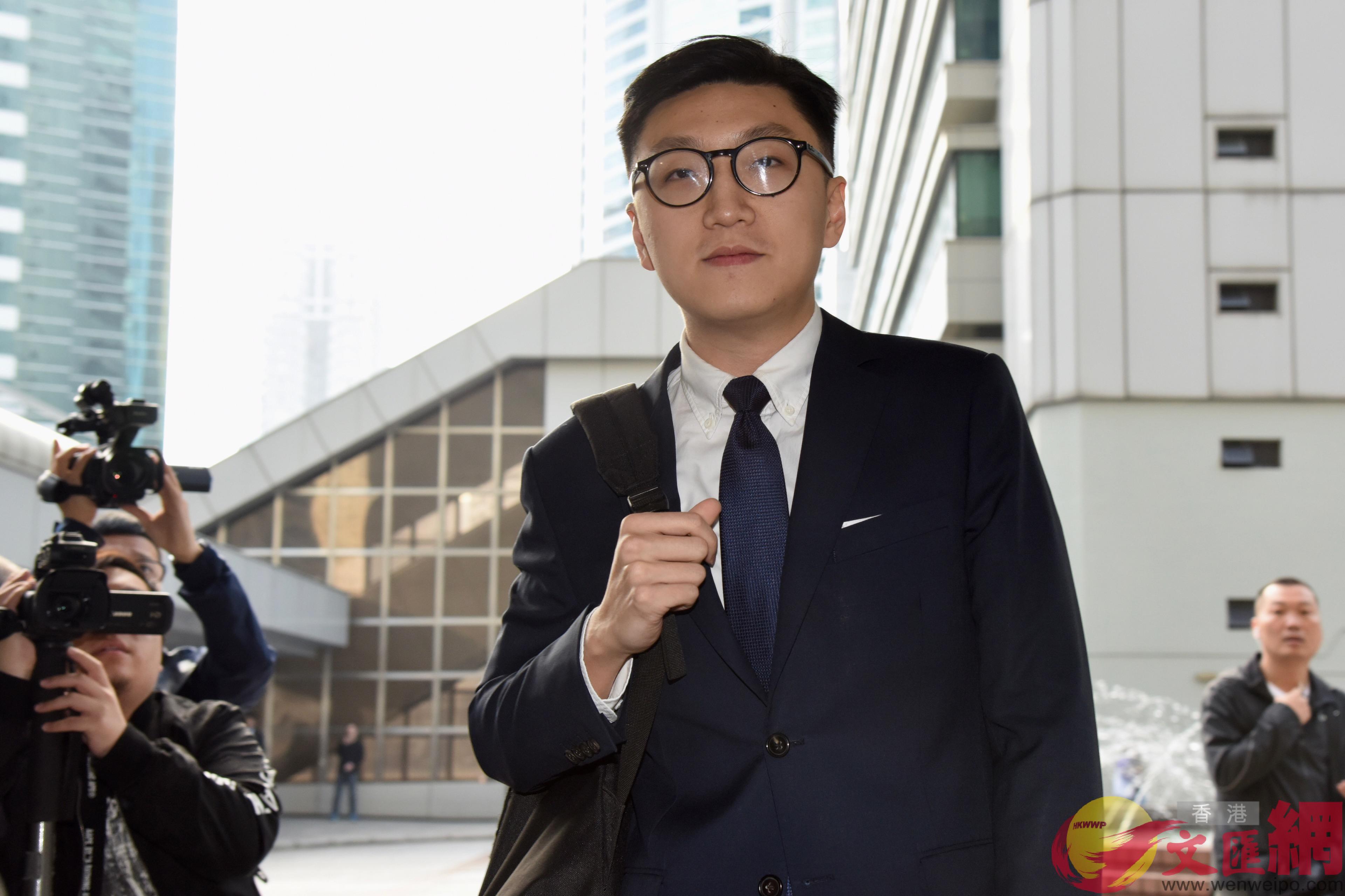 梁天琦認「襲警」拒認「暴動」等3罪(中新社資料圖片)