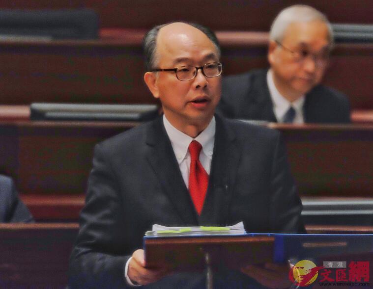 「一地兩檢」草案首讀 陳帆:冀迎接香港「高鐵新時代」