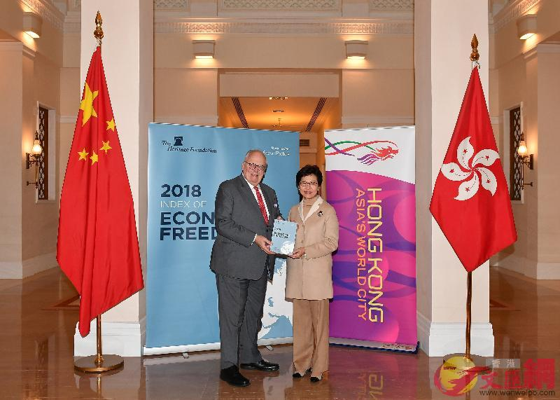香港連續24年被評為全球最自由經濟體
