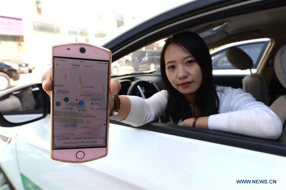 內地共享租車、跨城拼車及順風車的日漸興起,不少港人返鄉也開始選擇這些全新的出行風尚(新華社)