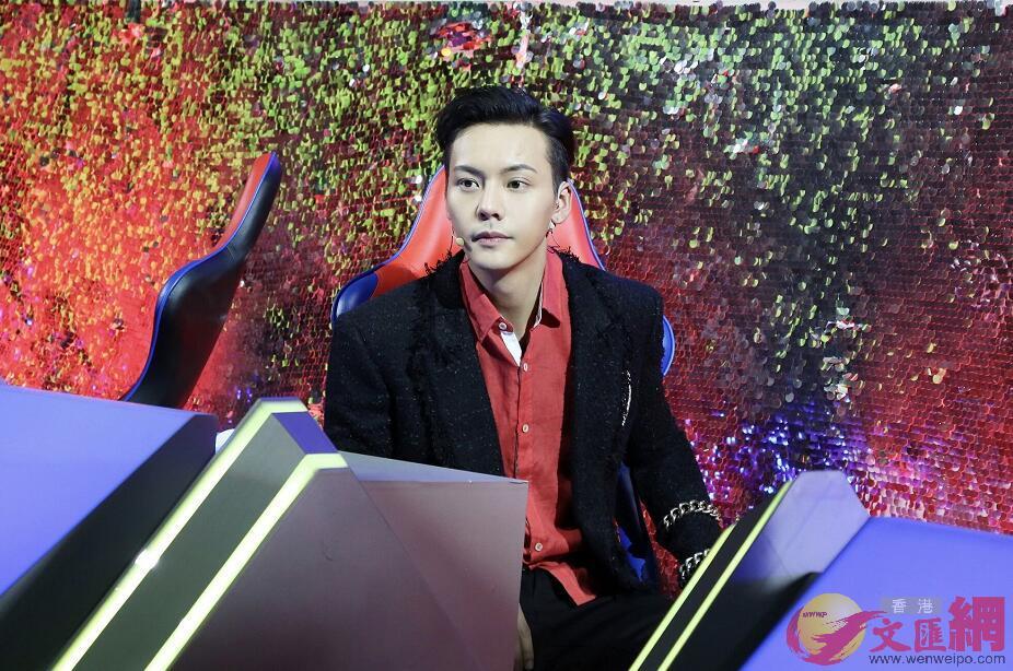 陳偉霆作為助夢嘉賓,參加央視節目《直通春晚》