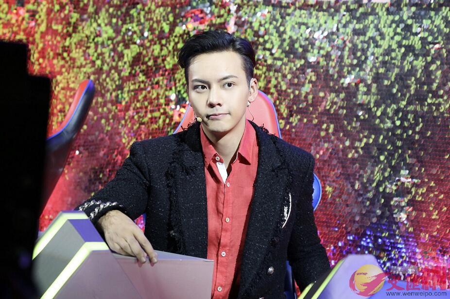 陳偉霆說,希望2018年大家能多多認識他跳舞的另一面