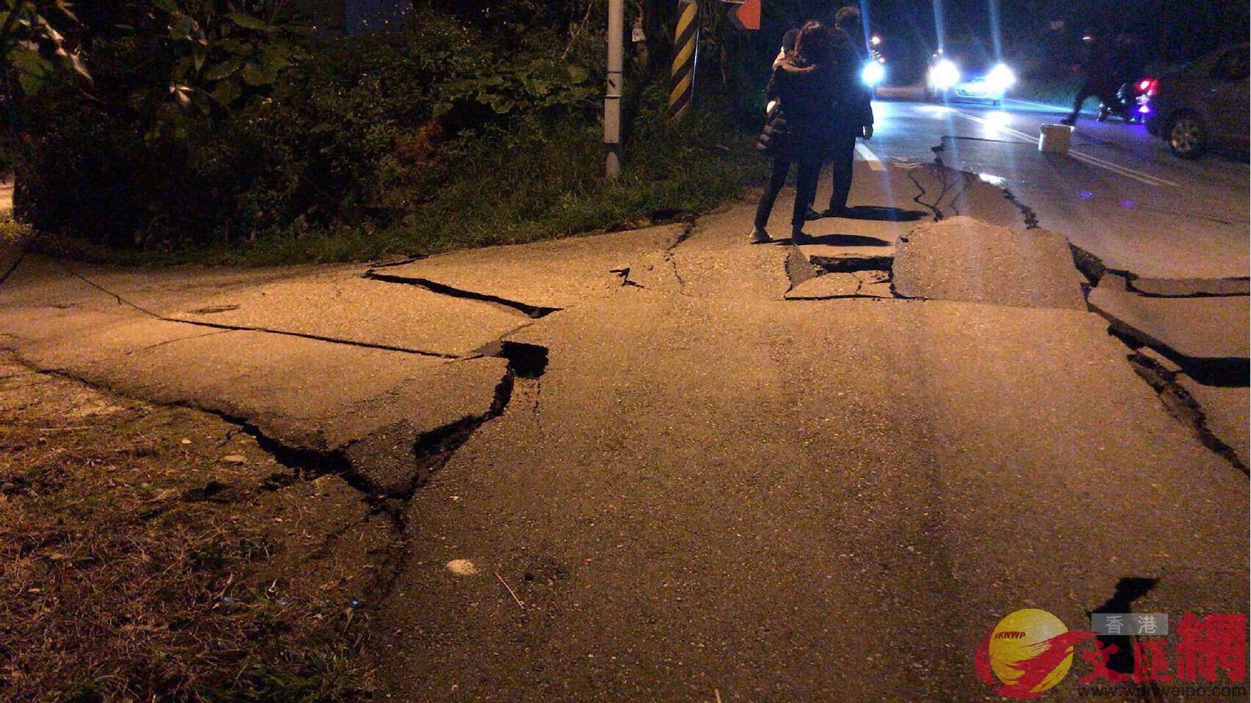 6日23:50:花蓮發生里氏6級強震,現場陸續傳出災情。