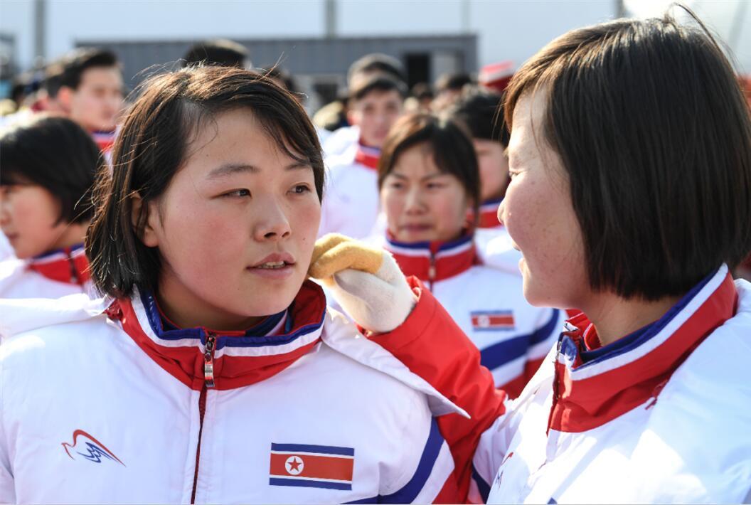 朝鮮女運動員