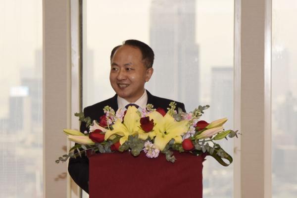 王志民主任致辭。(圖片來源:中央政府駐港聯絡辦)