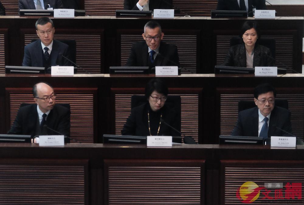 香港立法會《廣深港高鐵(一地兩檢)條例草案》委員會今日(12日)召開首次會議(全媒體記者麥鈞傑攝)
