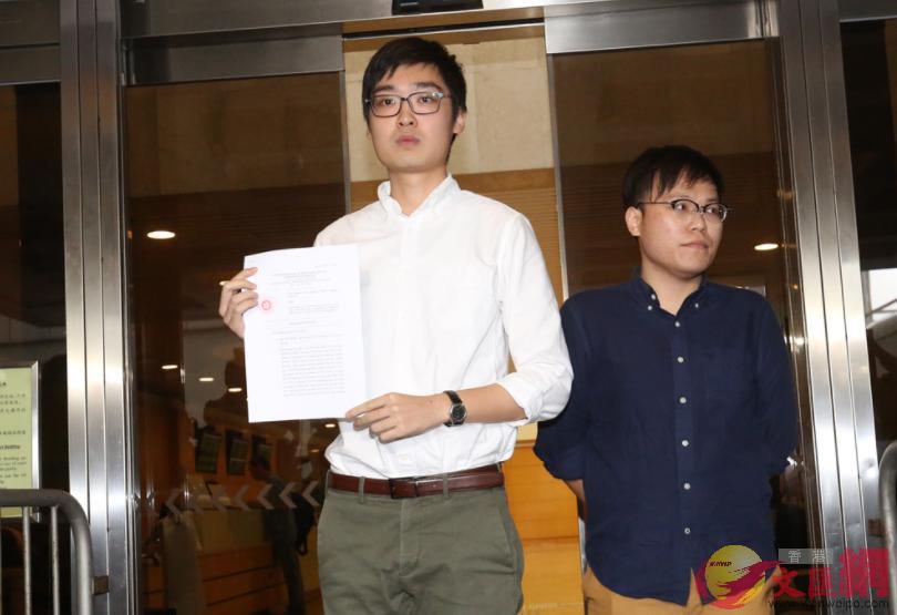 高院裁定陳浩天的選舉呈請敗訴(大公報資料圖)
