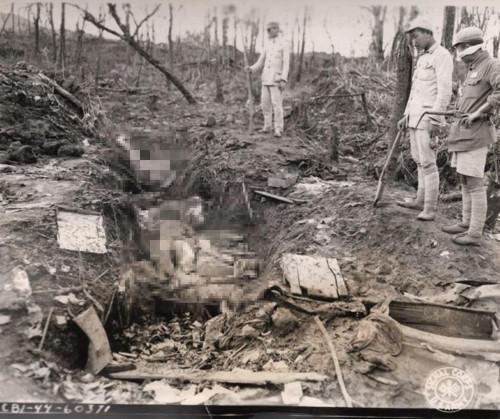 慰安婦遭屠殺後屍體被丟棄
