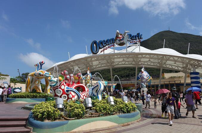 海洋公園獲港府3.1億撥款,將會在未來一年向香港中小學生提供1萬張免費入場券(資料圖片)