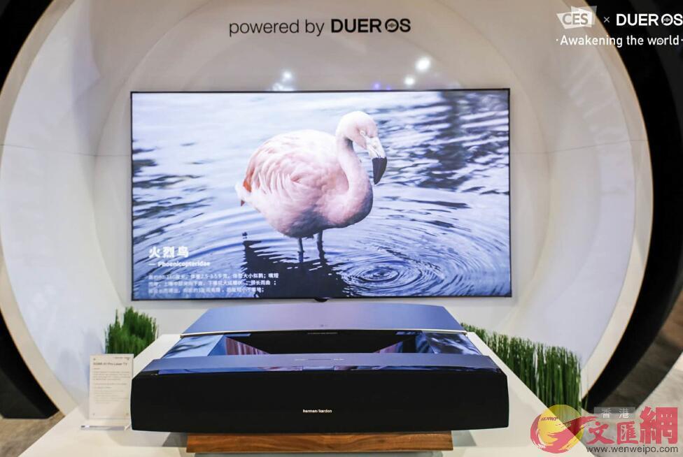 極米科技產品亮相2018CES國際消費電子展(香港文匯網四川傳真)