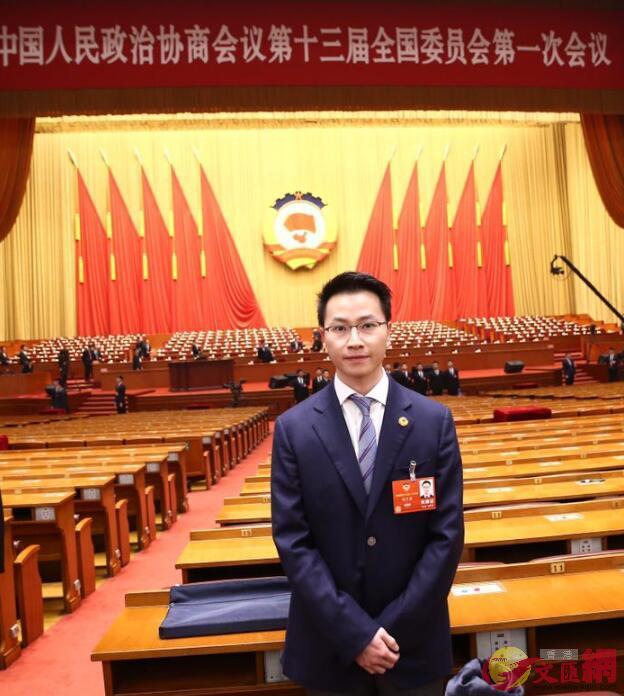 僑鑫集團董事兼執行總裁、廣東省僑商會常務副會長周子濤。