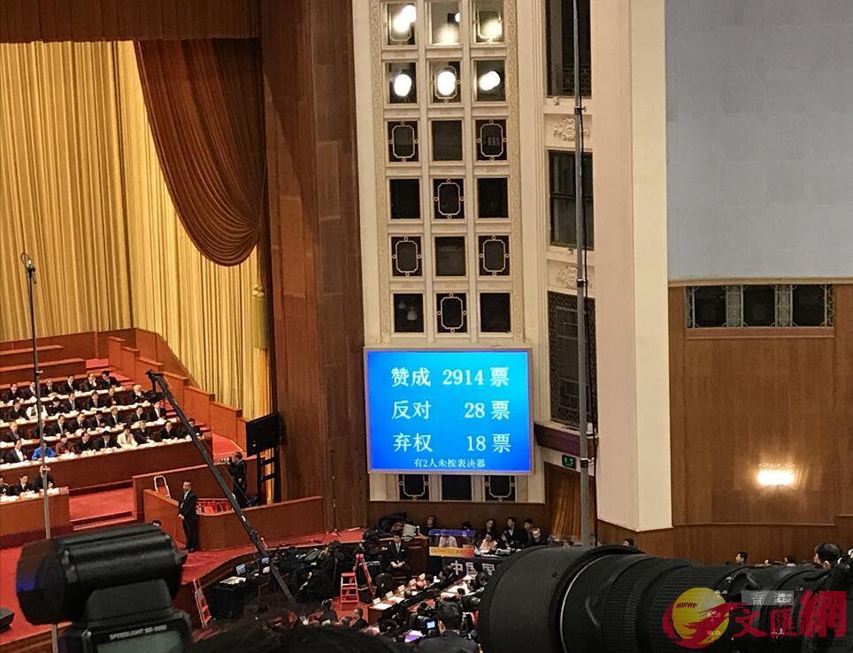 監察法草案表決數字(記者 江鑫嫻 攝)