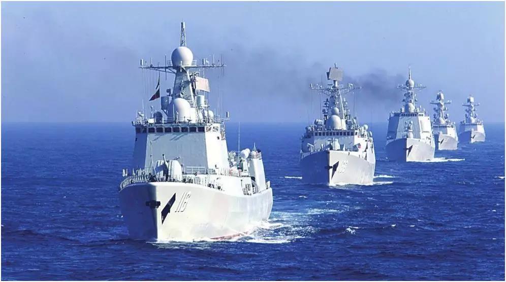 中國海軍編隊