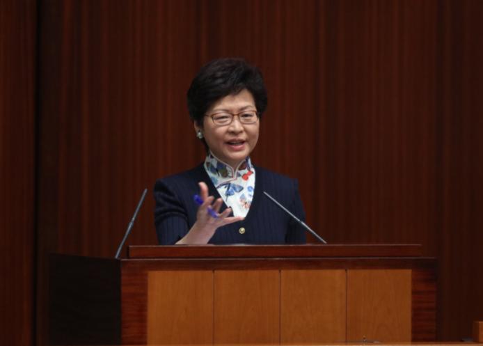 林鄭表示香港會繼續為投資者創造有利環境(大公報資料圖)