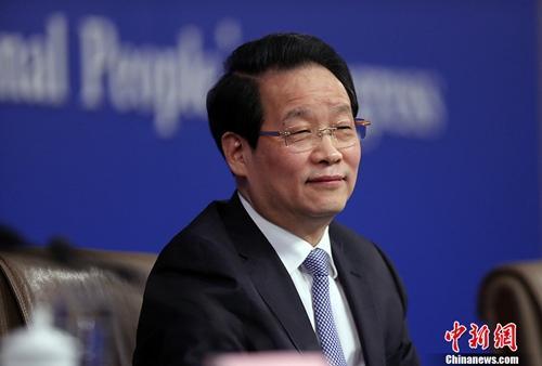 資料圖:中國保險監督管理委員會主席項俊波。中新社