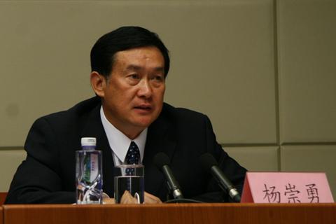 資料圖:楊崇勇 圖片來源:河北人大網。