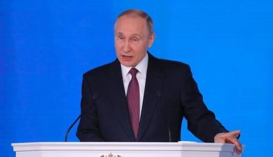 資料圖:俄羅斯總統普京