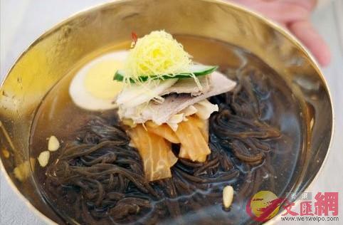 平壤玉流館冷麵(資料圖片)
