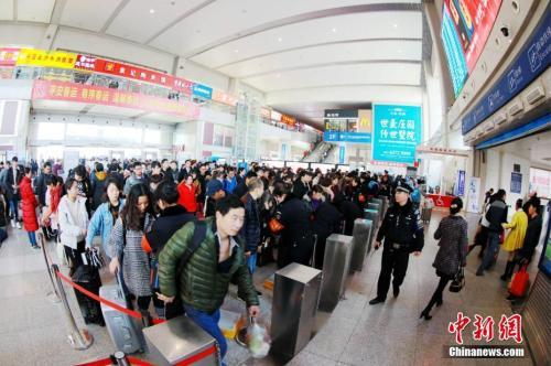 資料圖:鄭州火車站。
