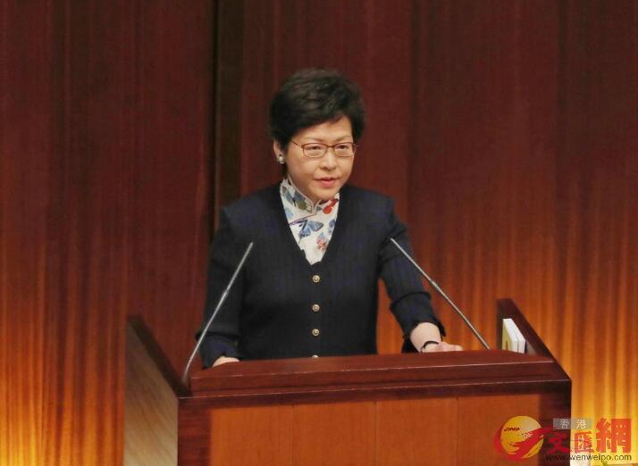 林鄭: 不排除今屆政府推政改可能性