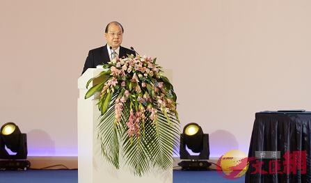 香港投資與貿易合作交流會上張建宗演講