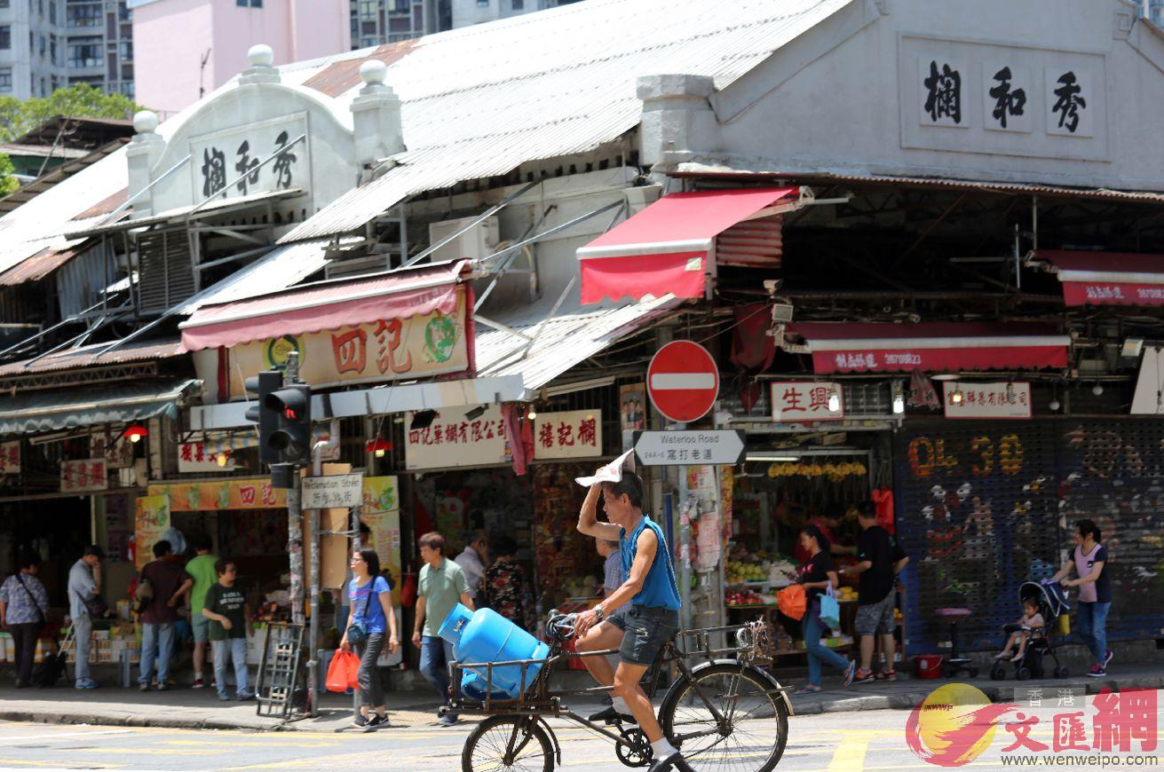 香港油麻地百年果欄,秀和欄是早期的水果攤檔商之一